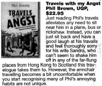 Travels with My Angst - review